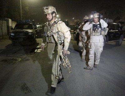 Atentado terrorista contra la Embajada española en Kabul