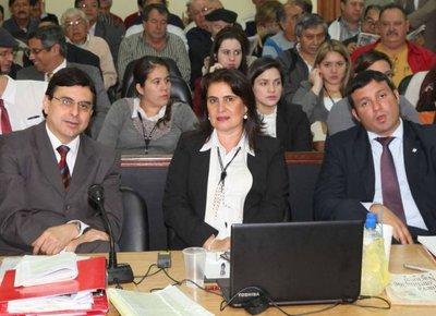 Juezas dictan hoy fallo en el juicio oral por desvío de dinero de Cajubi