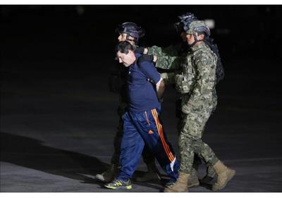 Formalizan detención de El Chapo para iniciar proceso de extradición