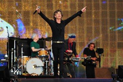 Rolling Stones generan expectación antes de su primer concierto en Perú