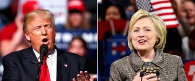 "Hillary y Trump pelean ""cabeza a cabeza"" – ADN"