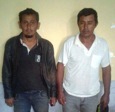 Policía aprehende a dos abigeos en el Chaco
