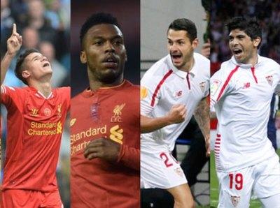 Sevilla y Liverpool van por el título