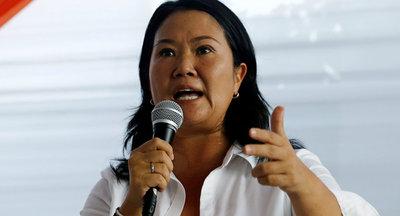 Fujimori sigue firme camino a la presidencia peruana – ADN