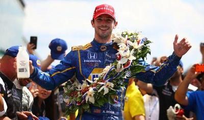 El novato Alexander Rossi gana las 500 de Indianápolis
