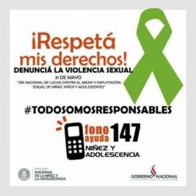 HOY / Marcha contra el abuso y maltrato infantil, y el número 147, clave para denuncias