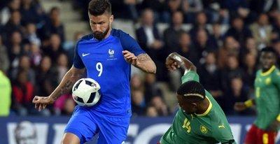 Francia derrota a Camerún en amistoso