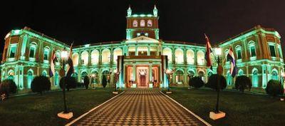 Un verde Palacio contra el abuso infantil