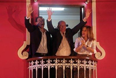 Kuczynski roza el triunfo en comicios de Perú