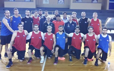 Selección de básquetbol se prepara para el Sudamericano