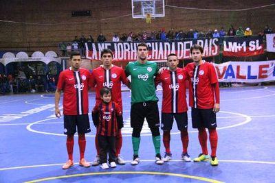 El olor a Libertadores de Futsal copa barrio Obrero y Cerro Porteño definió su lista de buena fe