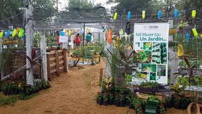 Agricultores exhiben y venden sus productos en Expo MAG