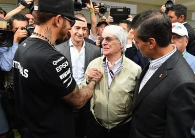 Hamilton será tetracampeón este año, asegura Ecclestone
