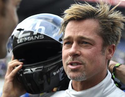 Brad Pitt da la salida en las 24 Horas de Le Mans