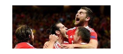Gales perfora a una Bélgica ingenua y se medirá en semifinales a Portugal