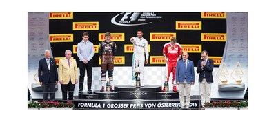 Hamilton alcanza triunfo en el Gran Premio de Austria