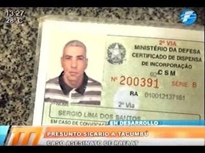 Presunto sicario del crimen de Rafaat será llevado a Tacumbú