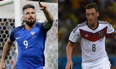 Francia y Alemania van por el último cupo para la final