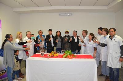 Día del Trasplante: Brindaron con agua, por la nueva vida