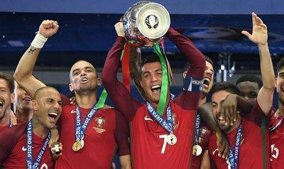 ¡Portugal campeón!