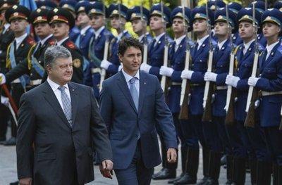 Ucrania y Canadá firman un tratado de libre comercio