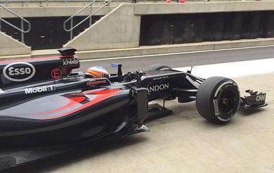 Alonso manda en Silverstone