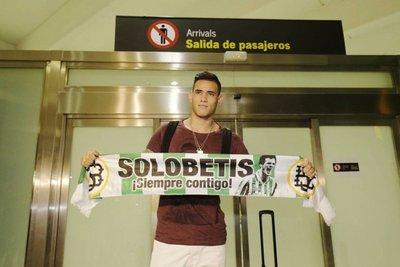 Sanabria, la séptima incorporación del Betis