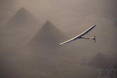 Solar Impulse 2 iniciará en Egipto última etapa de su vuelta al mundo