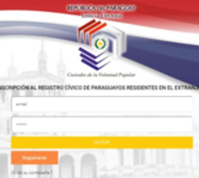 Compatriotas en el exterior ya podrán inscribirse en el padrón vía web