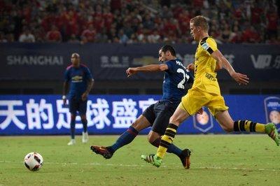El United de Mourinho cae ante el Borussia