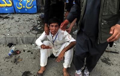 Suman 61 los muertos y superan 200 los heridos en Kabul