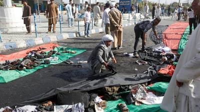 Casi un centenar de muertos en atentado de ISIS en Kabul