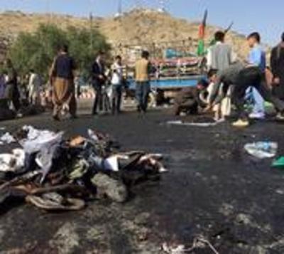 Atentado en Afganistán es reivindicado por el ISIS