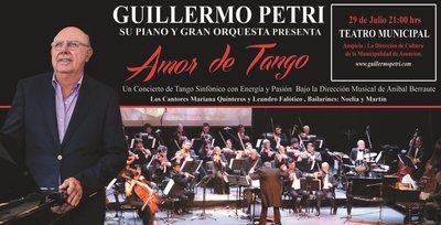 'Amor de Tango' se presenta en el Teatro Municipal