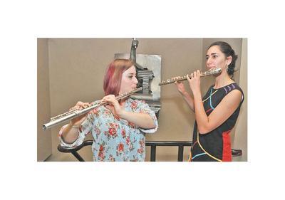 Recital de flauta traversa en el ICPA