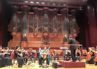 Berta Rojas estrenó una obra de Piazzolla en Asia