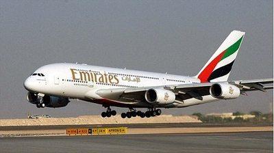 Emirates aterriza en Paraguay