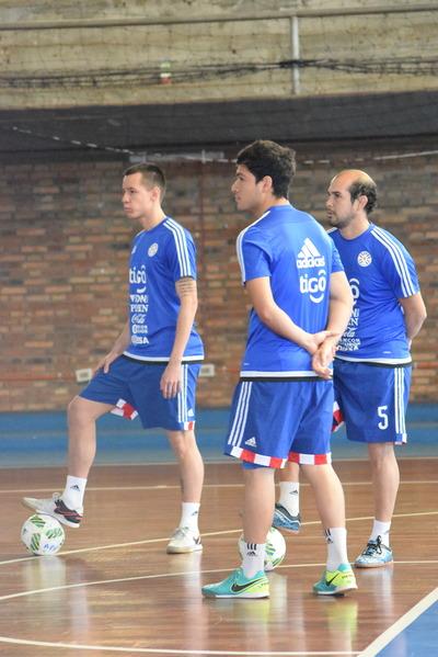 La Albirroja recibirá el viernes 26 y domingo 28 al Keima Futsal de Brasil