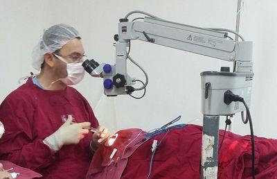 Realizan varias cirugías oftalmológicas en Pilar
