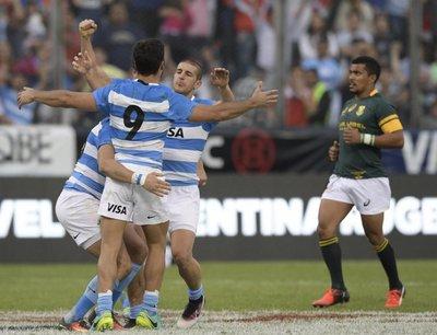 Los Pumas logran histórica victoria ante Sudáfrica