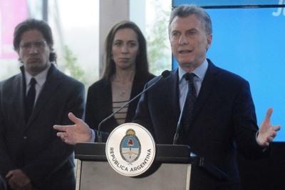 "Macri anuncia pacto federal para erradicar narcotráfico que ""degrada"" el país"