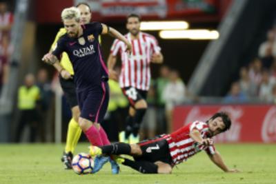 Lionel Messi está pero no en óptimo estado