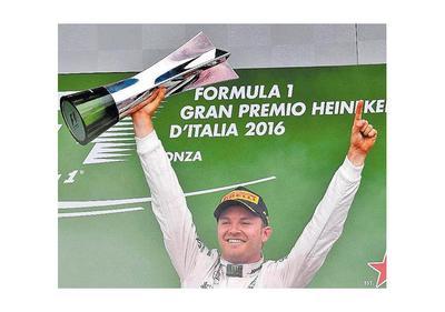Rosberg se adueñó de  Monza