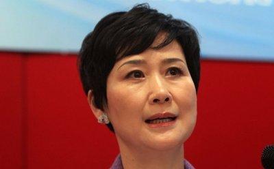 Li Xiaolin, hija del ex primer ministro chino Li Peng