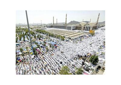 Casi 2 millones de musulmanes cumplen  rito de la peregrinación