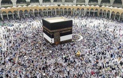 Unos 2 millones de fieles en La Meca