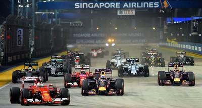 Todo lo que necesitás saber sobre el GP de Singapur