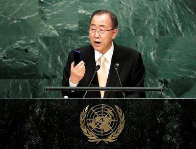 Ban Ki-moon se despide con su discurso más duro