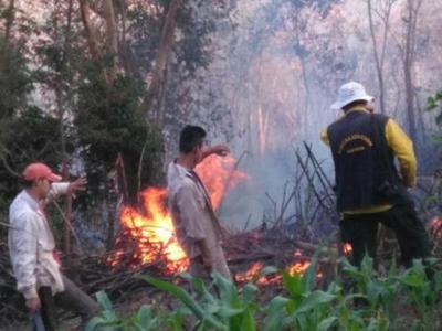 Ybytyruzú: Responsables del incendió podrían ser sancionados