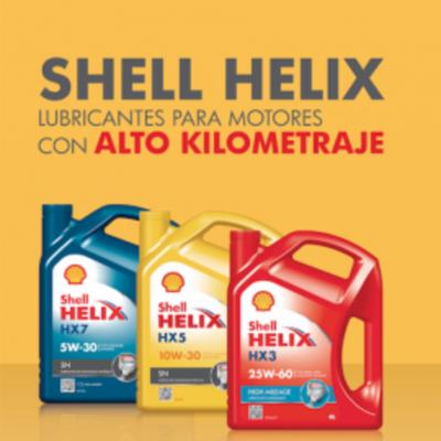 Shell Helix alto kilometraje: para motores con grandes recorridos
